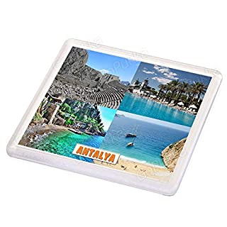 Antalya Turkey - Souvenir Coaster