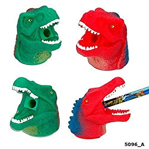 Top Model Sacapuntas Dino World Redondo (005096), Multicolor (DEPESCHE 1)