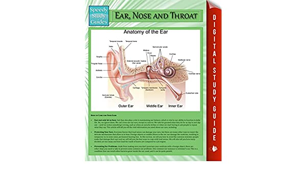 Ear Nose And Throat Speedy Study Guides Student Companion Edition EBook Publishing Amazonin Kindle Store