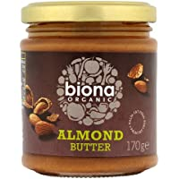 Biona Organic Almond Butter 170 g (order 6 for trade outer)