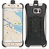 Wicked Chili Halteschale für Samsung Galaxy S7 Edge (G935F) für KFZ Scheibenhalterung oder Fahrrad Halterung (Passgenau, Made in Germany)