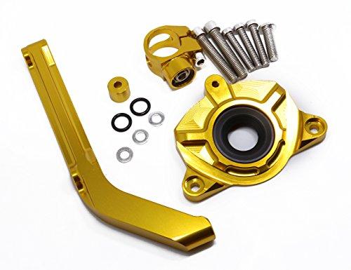 Aluminum Motorcycles Steering Stabilize Damper Bracket Mount Kit For Kawasaki Z1000 2014-2016 2015 Moto Steering Support