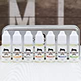 Mo Bro's Huile Pour Barbe Paquet-cadeau - 7 Parfums dans Premium Boîte De Cadeau & Sac De Transport (7 x 10ml)