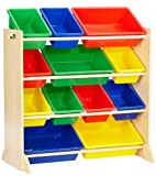 KidKraft 16774 Estantería infantil Sort It and Store It con 12...