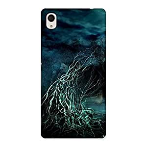 Gorgeous Tree Horror Back Case Cover for Xperia M4 Aqua