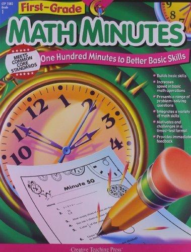 Math Minutes, 1st Grade Tch by Kim Cernek (2002) Paperback