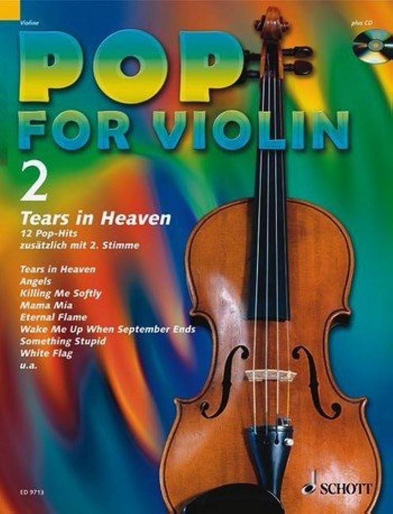 Pop for Violin Band 2 inkl. CD - 12 tolle Songs von Eric Clapton, Robbie Williams, Green Day u.a. für 1-2 Geigen arrangiert (Noten)