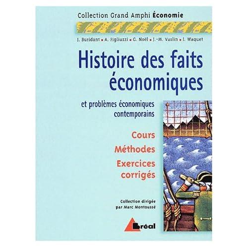 Histoire des faits economiques (ga)