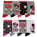 Disney - Chaussettes bébé Minnie Disney lot de 8 Couleur - Rose/Rouge, Pointure - 23/26