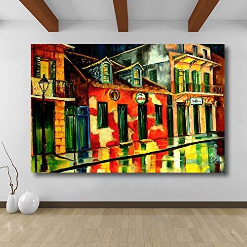 ERQINGYH Malerei Und Kalligraphie Wohnkultur Voodoo Shop Malerei Auf Leinwand Wandbilder Für Wohnzimmer Schlafzimmer Kein Gestaltet