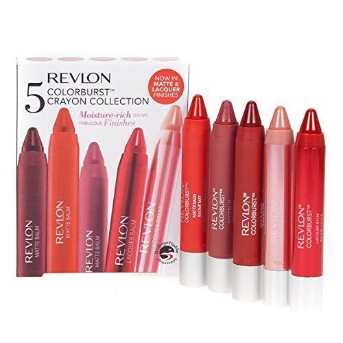 revlon-5-x-colorburst-crayon-collection-lipbalm-lip-stain-chubby-stick-gift-set-by-revlon