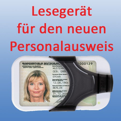 Personalausweis Lesegerät (für die neuen Ausweise)