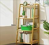 TX ZHAORUI Bücherregal Einfaches Holzlager Multi-Lagen Mit Mehrschichtigem Bücherregal Für Kinder,50X40x115cm