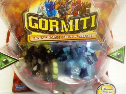 Gormiti Two Pack - Moray the Crusher & The Mysterious Knight by Gormiti