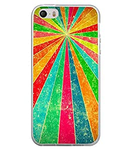 Fuson Multiple Color Projection Designer Back Case Cover for Apple iPhone 5S (Ethnic Pattern Patterns Floral Decorative Abstact Love Lovely Beauty)