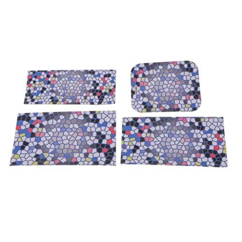 Preisvergleich Produktbild Gazechimp PVC Aufkleber Vinyl Folie für Nintendo Switch Konsole Controller & Dockingstation - Stil 5
