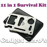 Gadget Hero's 11 in 1 Multi Function Credit Card Style Survival Tool Kit