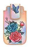 Zimbelmann iPhone Case / hülle aus echtem Leder - handbemalt - Sidney