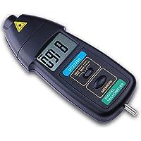 Easy Go Shopping Kontakt Tachometer 3in1 Handgriff LCD-Digital-Tachometer Großer messender Strecken-Geschwindigkeitsmesser DT2236B