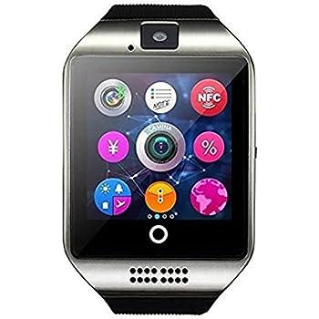 Reloj inteligente hipipooo Q18, sin cables, con cámara, ranura ...