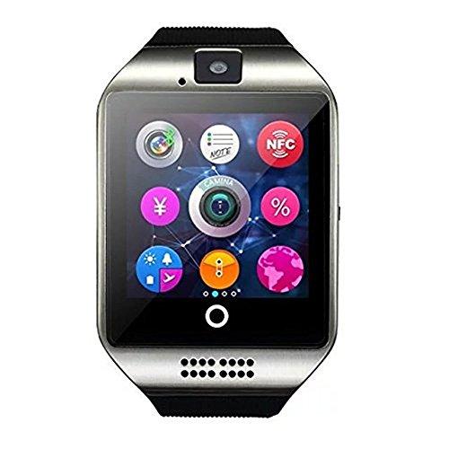 Hipipooo Q18 Wireless-Smartwatch mit Kamera TF / SIM-Karten-Slot für Android Samsung Galaxy / Note und iPhone ios (Splitter) Kamera Web-monitoring