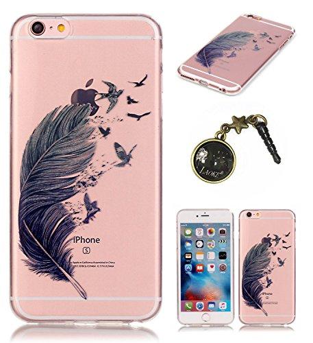 TPU Silikon Schutzhülle Handyhülle Painted pc case cover hülle Handy-Fall-Haut Shell Abdeckungen für Smartphone Apple iPhone 6 6S (4.7 Zoll)+Staubstecker (E5) 12