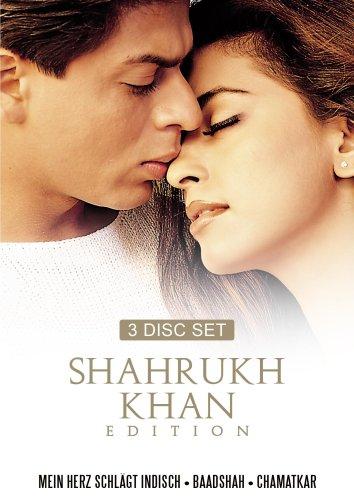 (Shahrukh Khan Edition Vol. 5 (Mein Herz schlägt indisch/ Baadshah-König der Liebe/Chamatkar-Der Himmel führt uns zusammen) - (3 DVDs))