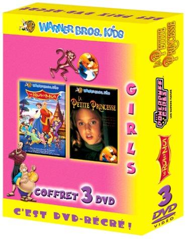 Coffret Girls 3 DVD : Le Roi et moi [Dessin animé] / La Petite princesse / The Powerpuff Girls : Les 3 jolies Super Nanas [FR Import]