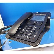 Telefono Fisso SIRIO* con Vivavoce (funziona senza Batterie e Alimentatore)Nuovo