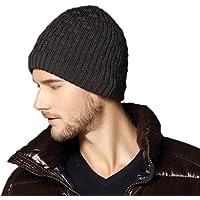 Kenmont caldo di inverno unisex Uomo maglia cappello del pattino