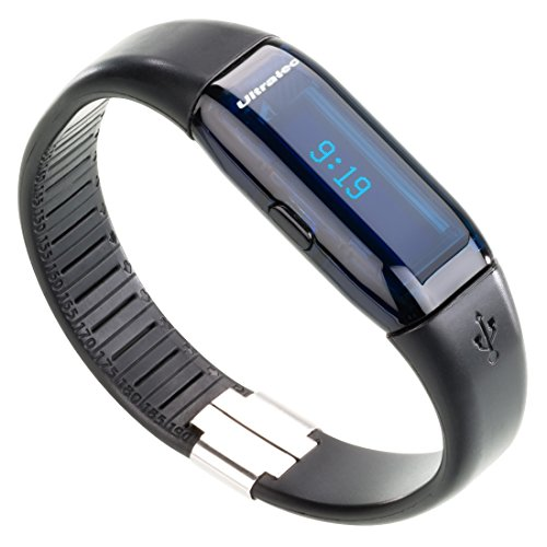 Galleria fotografica Ultratec Active Tracker Contapassi, Smart Pedometer, Tracker Fitness, Include App, Nero
