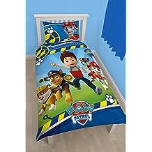 Character World Disney Paw Patrol Rescue - Juego de ropa de cama (individual), multicolor