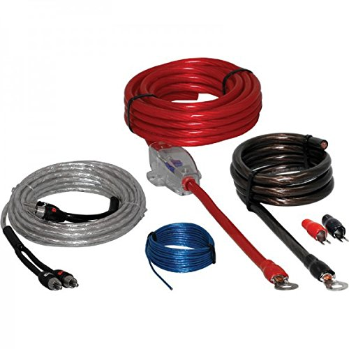 CB-KITAMP - Juego cables amplificador de coche. Kit para instalación de etapas de potencia (Kit 20)