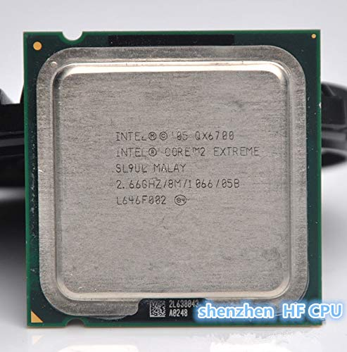 DIPU WULIAN Core 2 Extreme QX6700 Processor (2.66GHz/8MB /Quad-Core/FSB 1066) Desktop LGA 775 -