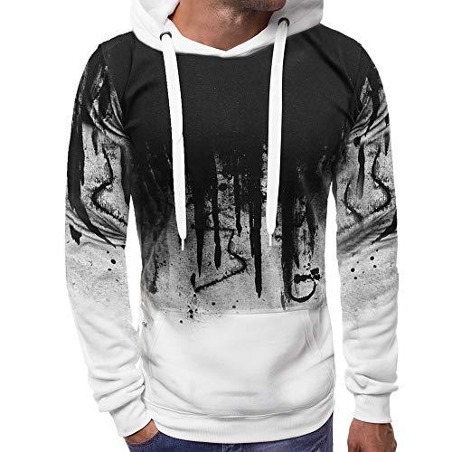 ZGRNPA Tarnung druckte Hoodies-Mann-Streetwear-Trainingsanzug-mit Kapuze Sweatshirts männliches beiläufiges Mann-Hoodie-Pullover Kapuzen Sweatshirt Herren Tarnung Patchwork Kapuzenjacke