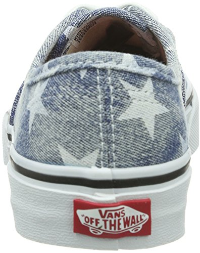 Vans K Authentic Sneaker, Unisex Bambino Blu (Bleu (Stars/Blue))