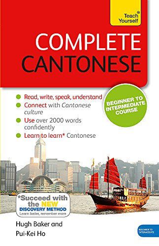 Complete Cantonese Book/CD Pack: Teach Yourself por Hugh Baker