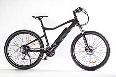 IC Electric Terra Bicicleta, Negro, Talla Única