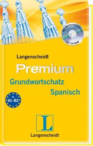 Langenscheidt Premium-Grundwortschatz Spanisch - Buch, CD-ROM