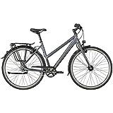Bergamont Vitess N8 FH Damen Trekking Fahrrad schwarz/grau 2018: Größe: 44cm (158-164cm)