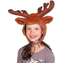 Sombrero de los niños de cabra cuentos de animales blanco Accesorio de  cabeza de cabra cabras b22b4e5511e
