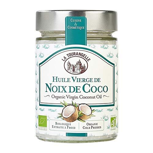 La Tourangelle - Huile Vierge De Noix De Coco Bio - 314Ml - Lot De 3 - Livraison Rapide en France - Prix Par Lot