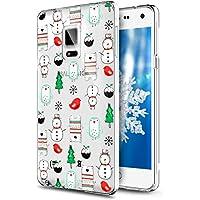 Galaxy Note 4 Hülle,Galaxy Note 4 Silikon Hülle Tasche Handyhülle,SainCat Christmas Weihnachten Muster TPU Schutz... preisvergleich bei billige-tabletten.eu
