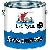 Halvar Rostschutz-Grundierung skandinavischeKorrosion-Schutz-Farbe in Hellgrau und Rotbraun für Metall