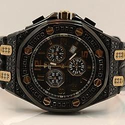 Aqua Master Mens Diamond Watch 8.50ctw W325T