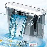 Pompe de filtration Aquarium externe filtre effet cascade douce salé