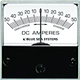 Blue Sea Systems 50-0-50A DC Micro Ammeter with Shunt