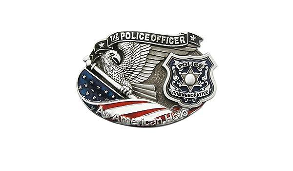 Urban Backwoods Police I Boucles de ceinture Belt Buckle