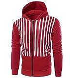 SALEBLOUSE Herbst Männer Langarm Hoodie Hooded Sweatshirt Tops Jacke Mantel Outwear Herren Männer...