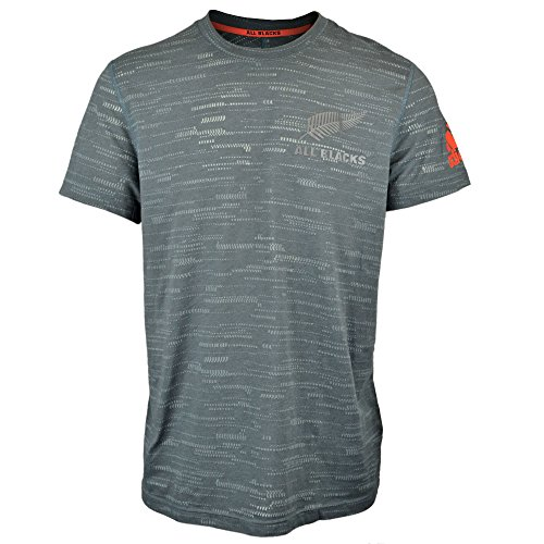 df83238a2aa world rugby shirts. adidas Ab Perf Tee of Camiseta All Blacks, Hombre, Gris  (Grpudg/Granit